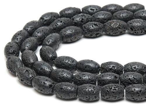 3x lava cadena sin cierre oval 18x26 mm negro//5109g