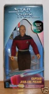 Star-Trek-9-034-Captain-Picard-Spencer-Gifts-Exclusive-Playmates-1997-New