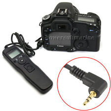LCD TIMER REMOTE CONTROL TIME LAPSE INTERVALOMETER FOR CANON EOS 550D 600D 1100D