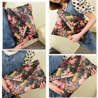 Womens Envelope Clutch Chain Purse Lady Handbag Tote Floral Shoulder Hand Bag