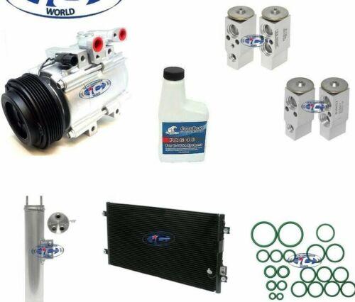 A//C Compressor /& Condenser Kit Fits Kia Sedona 02-05 V6 3.5L With Rear A//C 57119