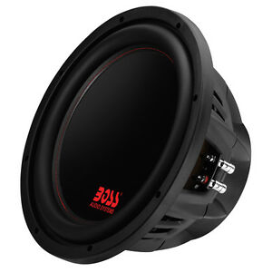 Boss Audio 12-Inch 2600-Watt Car Power Subwoofer DVC Power Sub 4 Ohm  | P129DC
