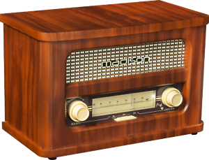 MADISON-MAD-RETRORADIO-NOSTALGIERADIO-Bluetooth-UKW-TUNER-2-x-10-Watt-Radio