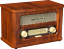 MADISON-MAD-RETRORADIO-NOSTALGIERADIO-Bluetooth-UKW-TUNER-2-x-10-Watt-Radio Indexbild 1