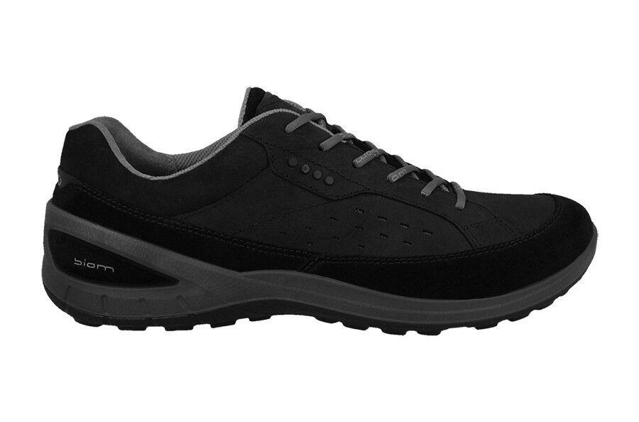 NEW Ecco Sneakers Boom Grip 2 II Black Suede Sneaker shoe Size USA 10-10.5 (44)