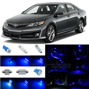 10pcs Ultra Blue Led Interior Lights Package Fit For 2012 2014