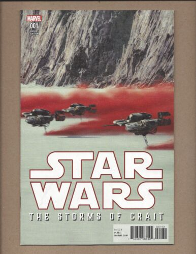 Star Wars the Storms of Crait #1 ~ Movie Variant  ~ NM