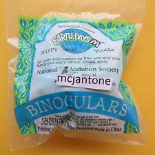 MIP McDonald's 1994 Earth Days BINOCULARS Audubon Society SINGLE Toy BIRD WATCH