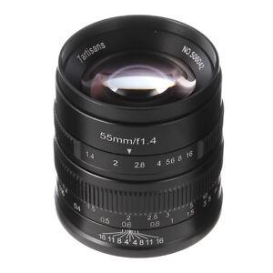 7artisans 55mm f 1 4 manual focus prime lens for sony e mount a6500 rh ebay com sony nex 7 manual focus assist NEX-7 Release