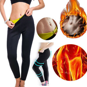 c2cf81f3dd6 Women Hot Sweat Sauna Body Shaper Slimming Pants Thermo Neoprene Gym ...