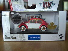 M2 1956 VW Beetle Deluxe European Model Super Chase Canada Hobby 1/64 Diecast