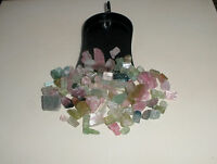 Tourmaline Crystal Rough Gem Mix Parcel Over 100 Carats