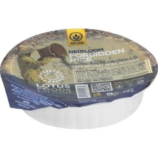 Lotus Foods-Forbidden Rice Bowl, Pack of 6 ( 7.4 oz bowls )