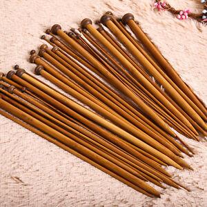 18Set-36-pieces-Bambou-Carbonise-Unitaire-Pointu-Tricot-Aiguilles-Doux-Crochet