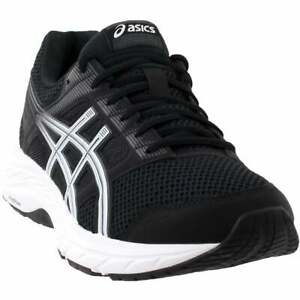 ASICS-Gel-Contend-5-Casual-Running-Shoes-Black-Mens