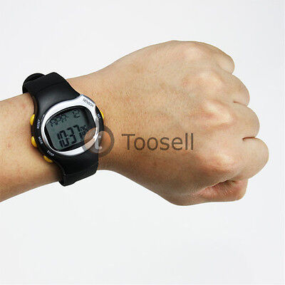 Pulse Heart Rate Monitor Calories Counter Fitness Watch Brand New US