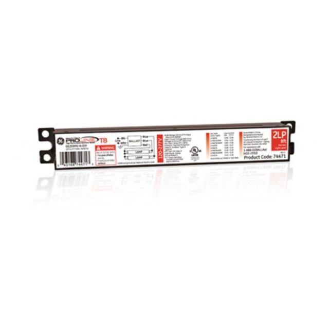 GE UltraMax Electronic Ballast T8 GE232MAX-G-N-DIYB 120-277V 2N