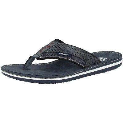 Ehrlich Rieker Serbia-tessuto-scuba Sandale Zehentrenner Antistress Steg Schuhe 21083-15