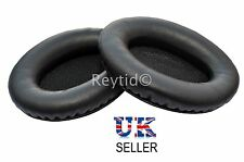 Bose® AE2/AE2i/AE2w EAR PAD KIT - BLACK LEATHER REPLACEMENT CUSHIONS