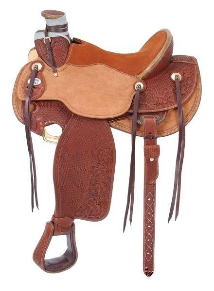 15.5 pulgadas asiento  silla de montar Western de trabajo Rancho Wade  la mejor oferta de tienda online