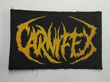 CARNIFEX DEATHCORE WOVEN PATCH