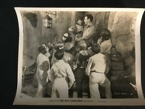 Details About 1932 The Gay Caballero 8 X 10 Movie Still Football Star With Children B W