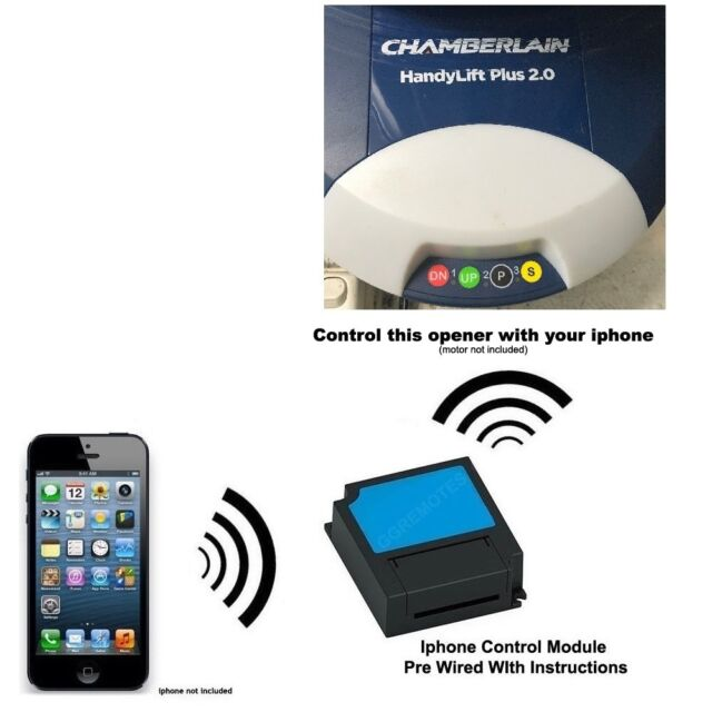 Iphone Remote Control Your Chamberlain Cr625evo Handylift Plus 20
