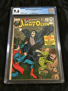 DC Comics Superman's Pal Jimmy Olsen #142 CGC 9.6 NEAR MINT Jack Kirby Vampire!