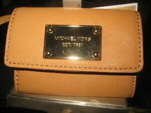43a255d4ff53 MICHAEL KORS JET SET ITEM FLAP VINTAGE YELLOW LEATHER,COIN PURSE,KEY ...