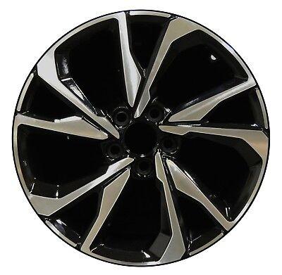 18 Honda Civic Si Coupe 2017 2018 Factory Oem Rim Wheel 64108 Gloss Black Ebay