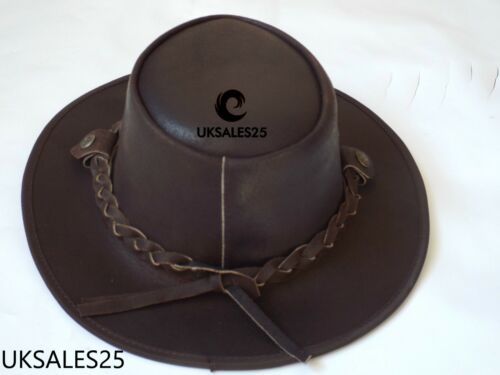 Bush Hats Style Leather Cowboys Real Western wRqAa7