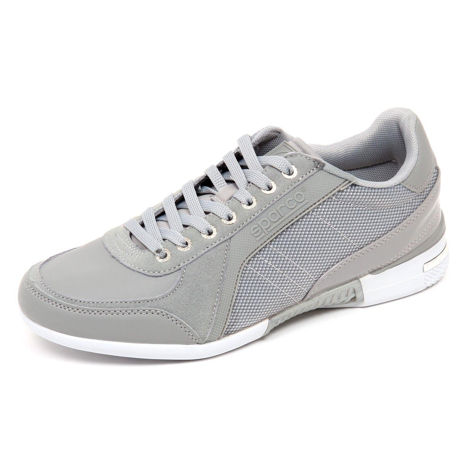 D2906 sneaker grigio Zapatos hombre tissue SPARCO Zapatos grigio grigio sneaker 18d234