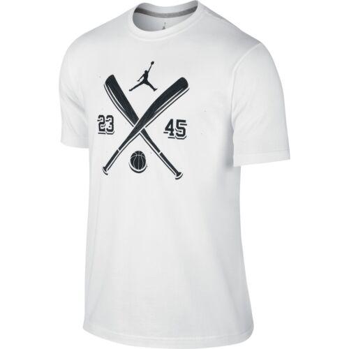Jordan AJXI Men/'s T-Shirt White//Black 649346-100
