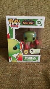 Funko-Pop-Murloc-33-World-of-Warcraft-2016-Glow-in-the-Dark-GITD-ECCC-300-Piece