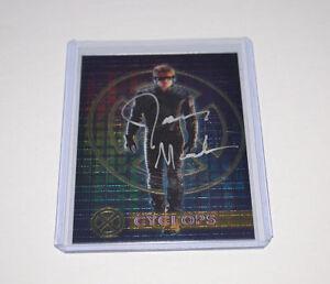 JAMES-MARSDEN-SIGNED-CHROME-X-MEN-INSERT-CARD-Autograph-CYCLOPS