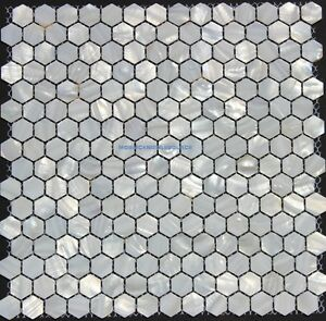Whistling oyster mother of pearl shell mosaic tile backsplash tiles image is loading 034 whistling oyster 034 mother of pearl shell ppazfo