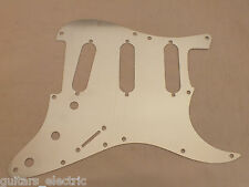 FULL ALUMINIUM PICKGUARD ELECTRICAL SHIELD to fit 8 or 11 hole STRATOCASTER