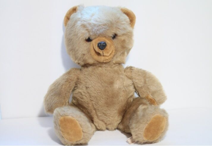 A Golden Bear 20  Jahr Plush Spielzeug Teddy Bear (Made in England)