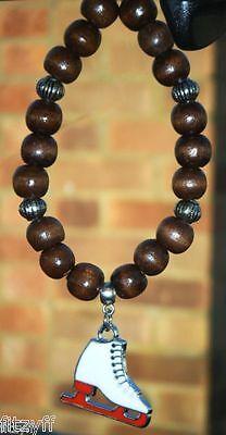 Kroaz Geltek Gaelic Celt Gift In Car Wooden Beads /& Celtic Cross Pendant Charm