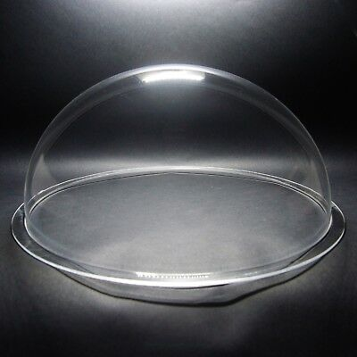 DURADOM 3.2 Inch Acrylic Dome 80mm CCTV Replacement Cover Dog Fence Window