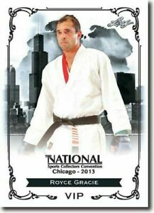ROYCE-GRACIE-2013-LEAF-NATIONAL-EXCLUSIVE-COLLECTORS-PROMO-CARD