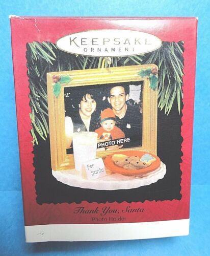 "Hallmark ""Thank You Santa"" Ornament 1996"