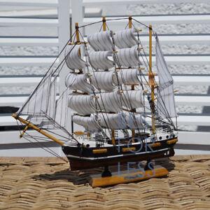 Segelschiff-Passat-Standmodell-Maritime-Deko-Viermast-Stahlbark-Modell-Segelboot