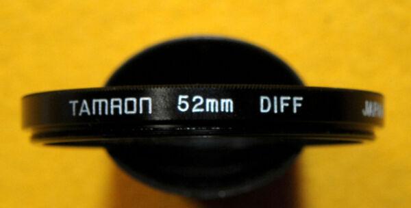 * Tamron : 52mm. Diff Japan * ( Diffusore ) Moderne Et EléGant à La Mode