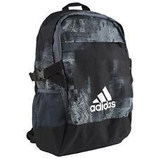 Adidas 2016 Power 3 Graphic Back Pack Medium Sports Bag Black AY5095