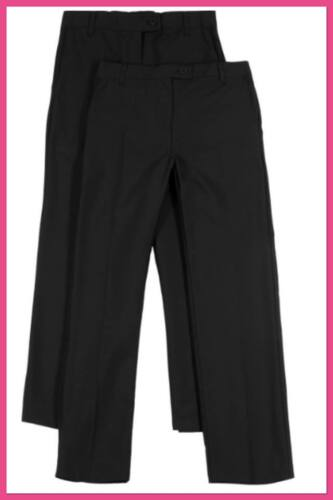 M/&S School 2 Pack Girl/'s Bootleg Trousers Triple Action Stormwear NEW!