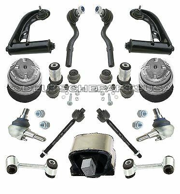 MERCEDES W210 E320 Front Control Arms Ball Joints Tie Rods Mounts SUSPENSION Kit