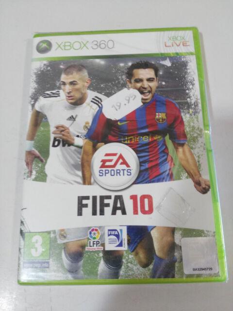 FIFA10 FIFA 10 XBOX 360 EDICIÓN ESPAÑOLA EA SPORTS FIFA NUEVO PRECINTADO!!!