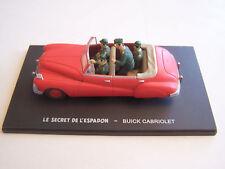 VOITURE 1/43 BLAKE ET MORTIMER , BUICK CABRIOLET , LE SECRET DE L ' ESPADON .