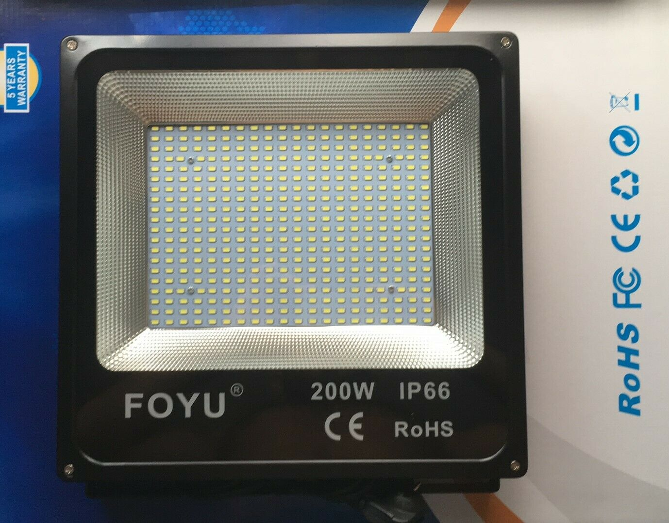 Projektor für Campo Sport Fußball Leuchtturm Led- 200 W Watt X Abzeichen und